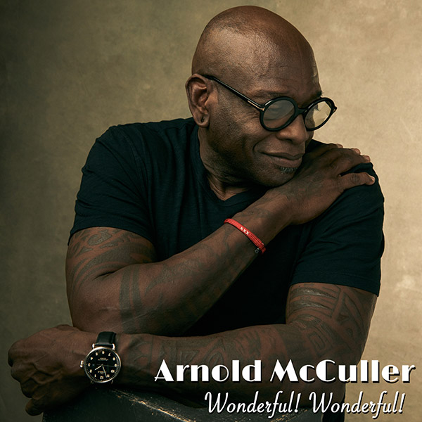 Album cover for Arnold McCuller Wonderful! Wonderful! single